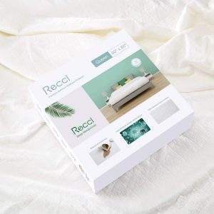 picture of RECCI Premium Bamboo Mattress Protector Queen Size