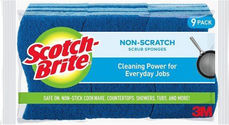 picture of Scotch-Brite Non-Scratch Scrub Sponges 9-pk Sale