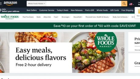 picture of Whole Foods $10 off $50 First Order