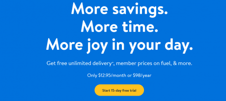 picture of New Walmart+ Membership - Gas Discount, Free Grocery Delivery, More