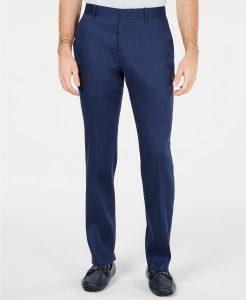 picture of Alfani Men's Linen Pants Clearance Sale