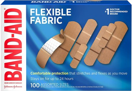 picture of Band-Aid Brand Flexible Fabric Adhesive Bandages 100ct