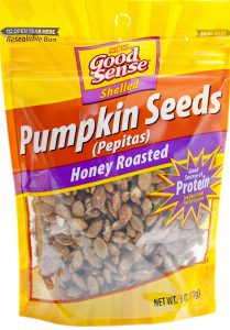 picture of Good Sense Shelled Pumpkin Seeds, Honey Roasted - 6 Ounce, Sale