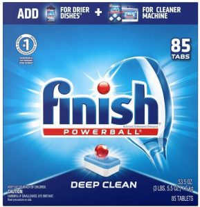 picture of Finish 85-ct All in 1 Dishwasher Detergent Tabs Sale