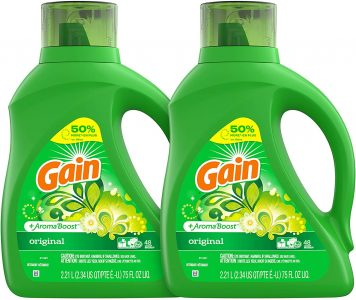 picture of Expiring Today: Gain 75-oz Laundry Detergent Liquid Plus Aroma Boost Sale