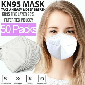 picture of KN95 Protective 5 Layers Face Mask, 50 PACK, Sale