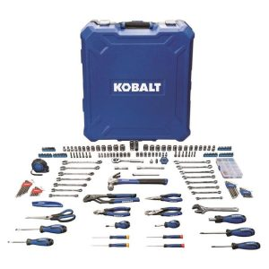 picture of Kobalt 200-Piece Household Tool Set w/ Hard Case Sale