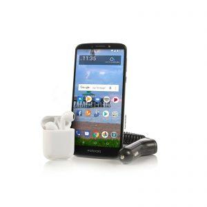picture of Tracfone Motorola Moto e5 16GB Smartphone + 1 Year of Service Sale