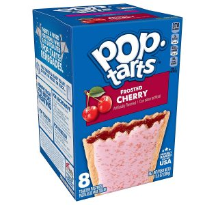 picture of Pop-Tarts Frosted Cherry Breakfast Toaster Pastries, 12 Boxes of 8-Count, Sale