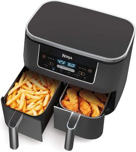 picture of Ninja DZ201 Foodi 6-in-1 2-Basket Air Fryer Sale