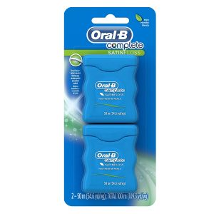 picture of 3x Oral-B Complete SatinFloss Dental Floss, 2-Pack, Sale