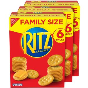 picture of RITZ Original Crackers, Family Size, 3 Boxes, Sale