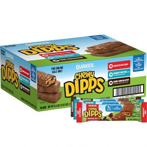 picture of Quaker Chewy Granola Bars and Dipps Variety Pack, 48 Count Sale