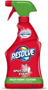 picture of Resolve 22 fl oz Multi-Fabric Cleaner and Upholstery Stain Remover