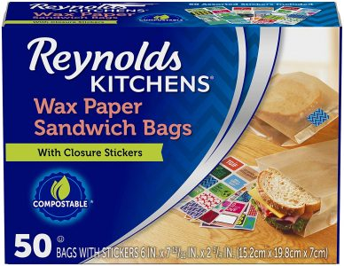 picture of Reynolds Kitchens Sandwich and Snack Wax Paper Bags 50 Count Sale