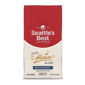 picture of Seattle's Best Coffee House Blend Medium Roast Ground Coffee, 12-Ounce Bag Sale