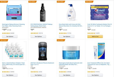 picture of $10 off $30 in Health and Beauty - Soap, Shave Gel, Hand Sanitizer,...