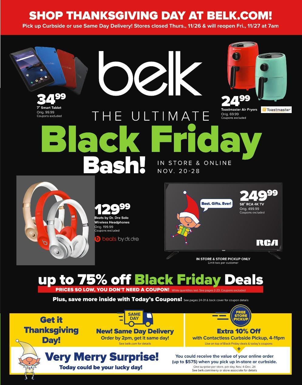 Belk Black Friday 2020 Ad