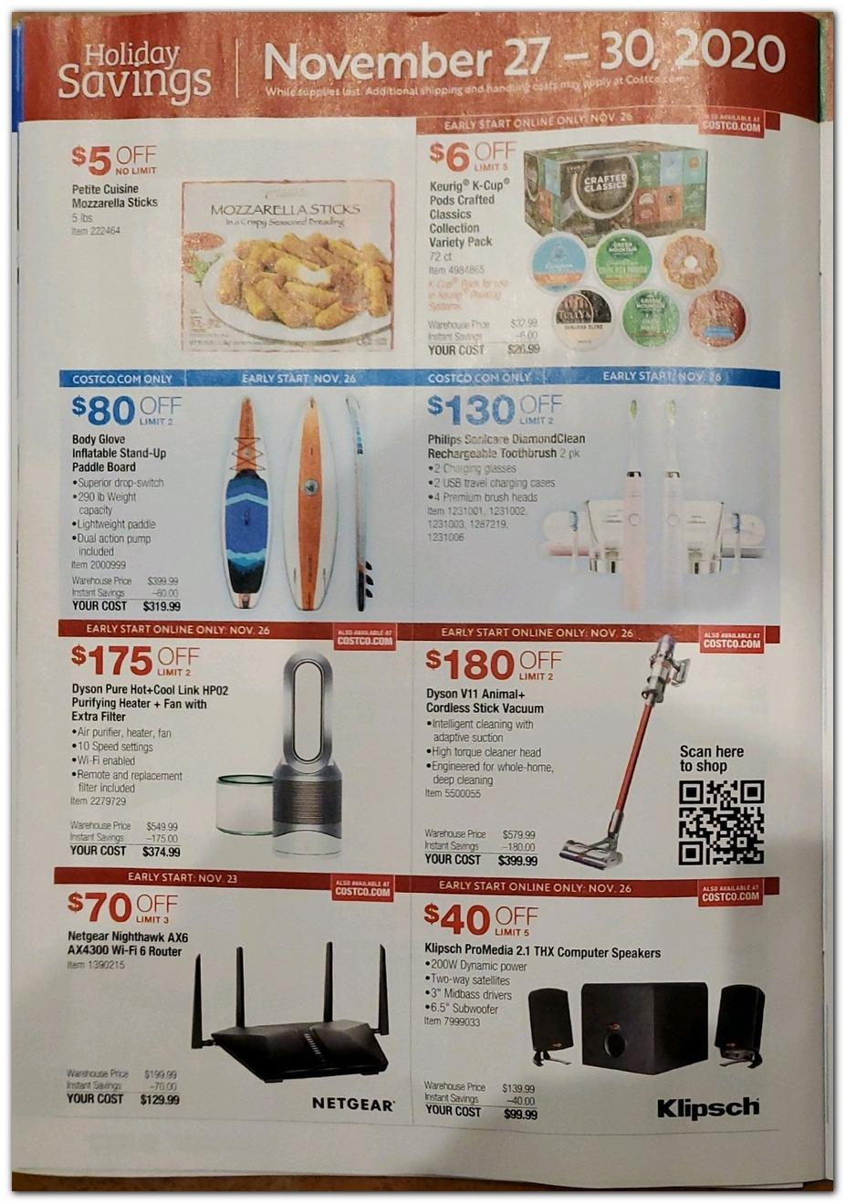 Costco Black Friday 2020 Ad