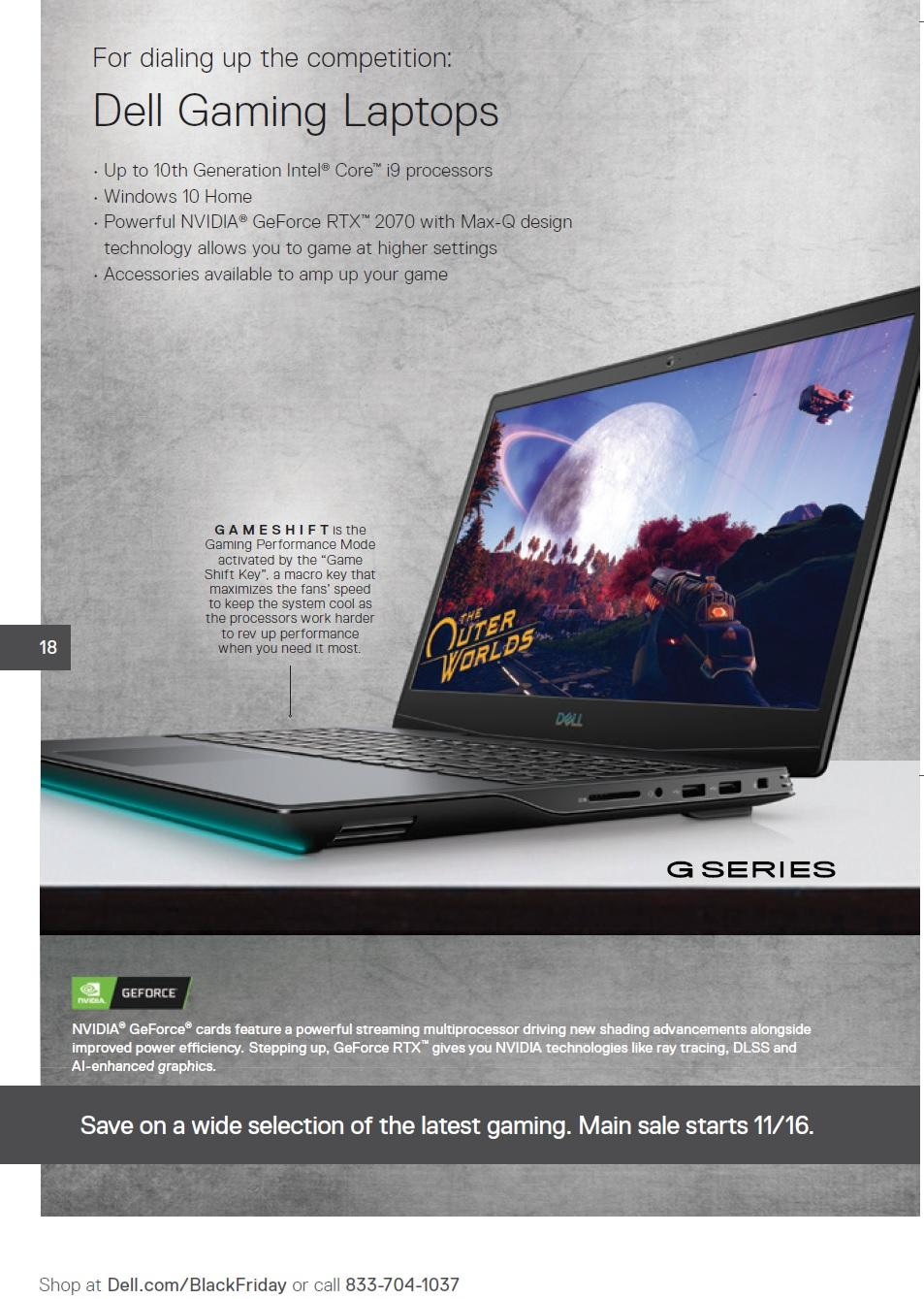 Dell Home Black Friday 2020 Ad