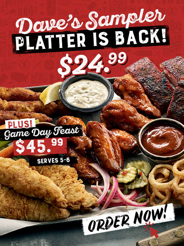 Famous Dave's BBQ Coupon