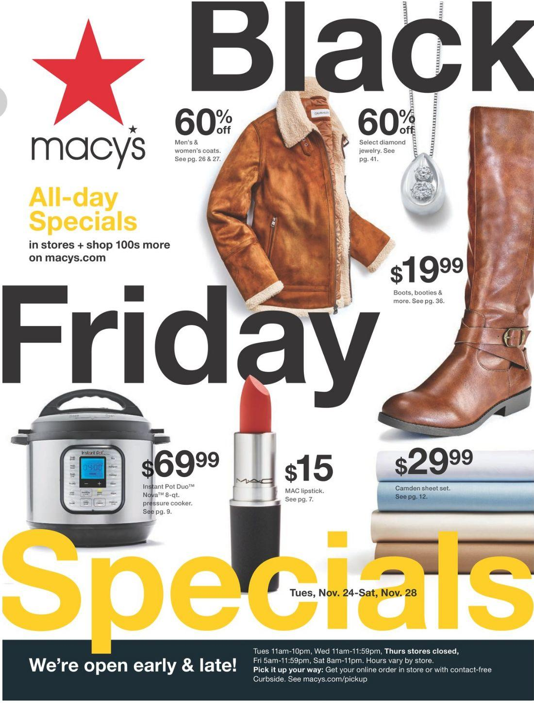 Macys Black Friday 2020 Ad