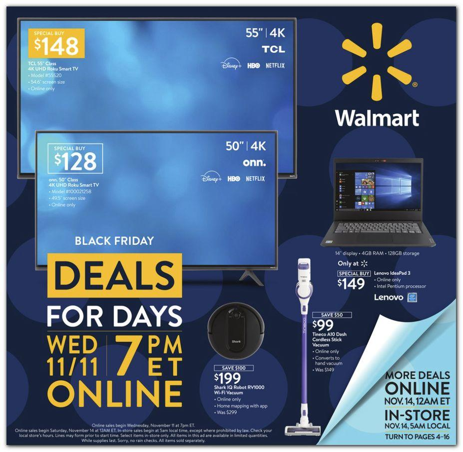 Walmart Black Friday 2020 Ad