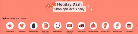 picture of Expiring Today: Amazon Holiday Dash Sale