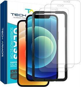picture of iPhone 12, 12 Pro Glass Screen Protector 3 Pack Sale