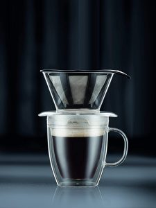 picture of Bodum 12oz Pour Over Coffee Dripper Set w/ Mug & Filter Sale