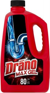 picture of Drano Max Gel Drain Clog Remover and Cleaner 80oz Sale