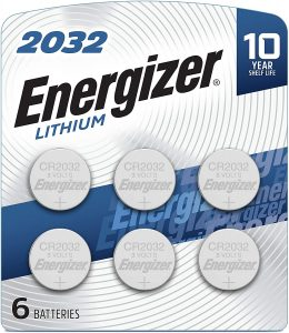 picture of Energizer CR2032 Batteries, 3V Lithium Coin Cell 6ct