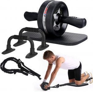 picture of Expiring Today: EnterSports Ab Roller Wheel, 6-in-1 Ab Roller Kit