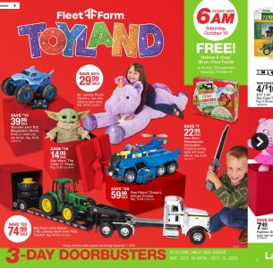 picture of Fleet Farm Toyland Holiday Ad