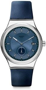picture of Swatch Sistem51 Leather Watch Sale
