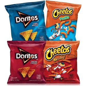 picture of Frito-Lay Doritos & Cheetos Mix (40 Count) Variety Pack Sale