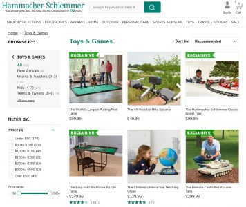 picture of Hammacher Schlemmer Toys that Delight