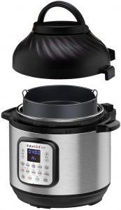 picture of Instant Pot Duo Crisp Pressure Cooker with Air Fryer, 6 Qt Sale