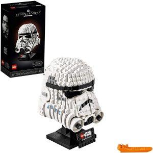 picture of LEGO Star Wars Helmet Building Kits: Boba Fett or Stormtrooper Sale