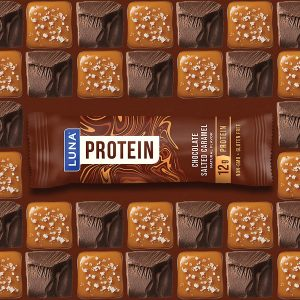 picture of LUNA PROTEIN - Gluten Free Protein Bars 12 Count Salted Carmel Sale