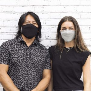 picture of Safe+Mate x Case-Mate - Cloth Face Mask with filter 3 pk