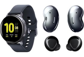 picture of Samsung Galaxy Watch Active 2, Galaxy Buds, Galaxy Buds Live Bundle