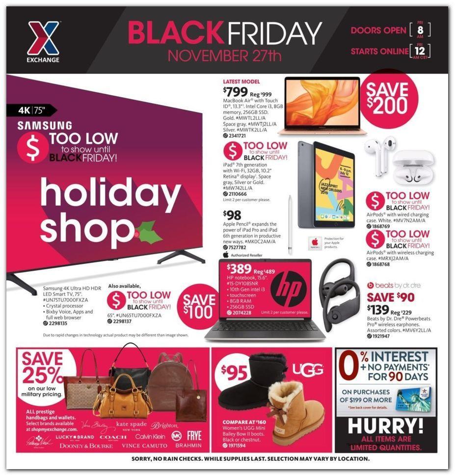 AAFES Black Friday 2020 Ad