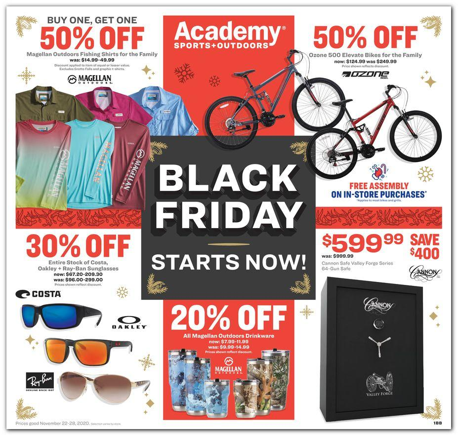 Academy Sports Black Friday 2020 Ad