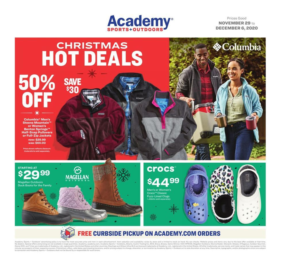Academy Sports CyberMonday 2020 Ad