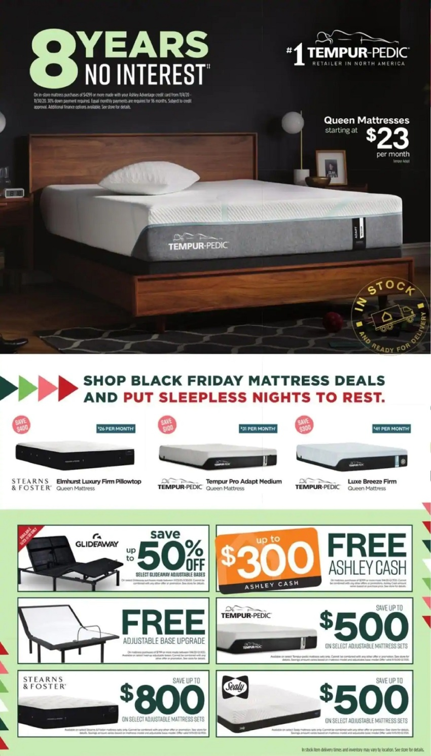 Ashley Furniture Black Friday 2020 Ad