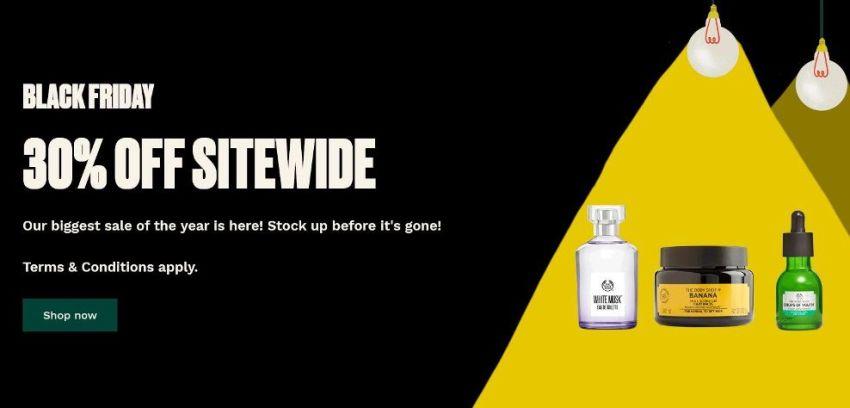 Body Shop Black Friday Ad 2020