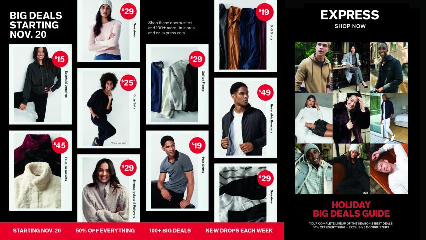 Express Black Friday 2020 Ad