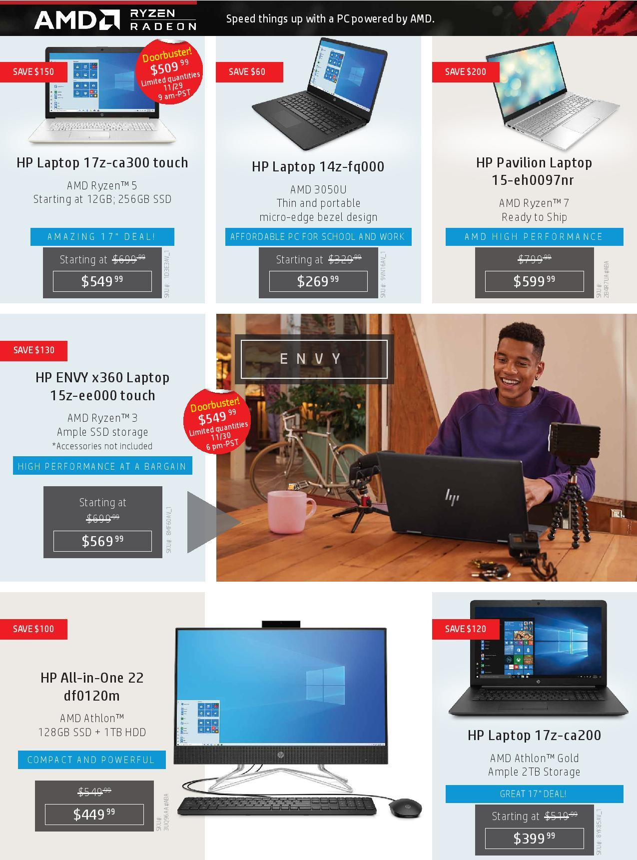 HP Black Friday 2020 Ad