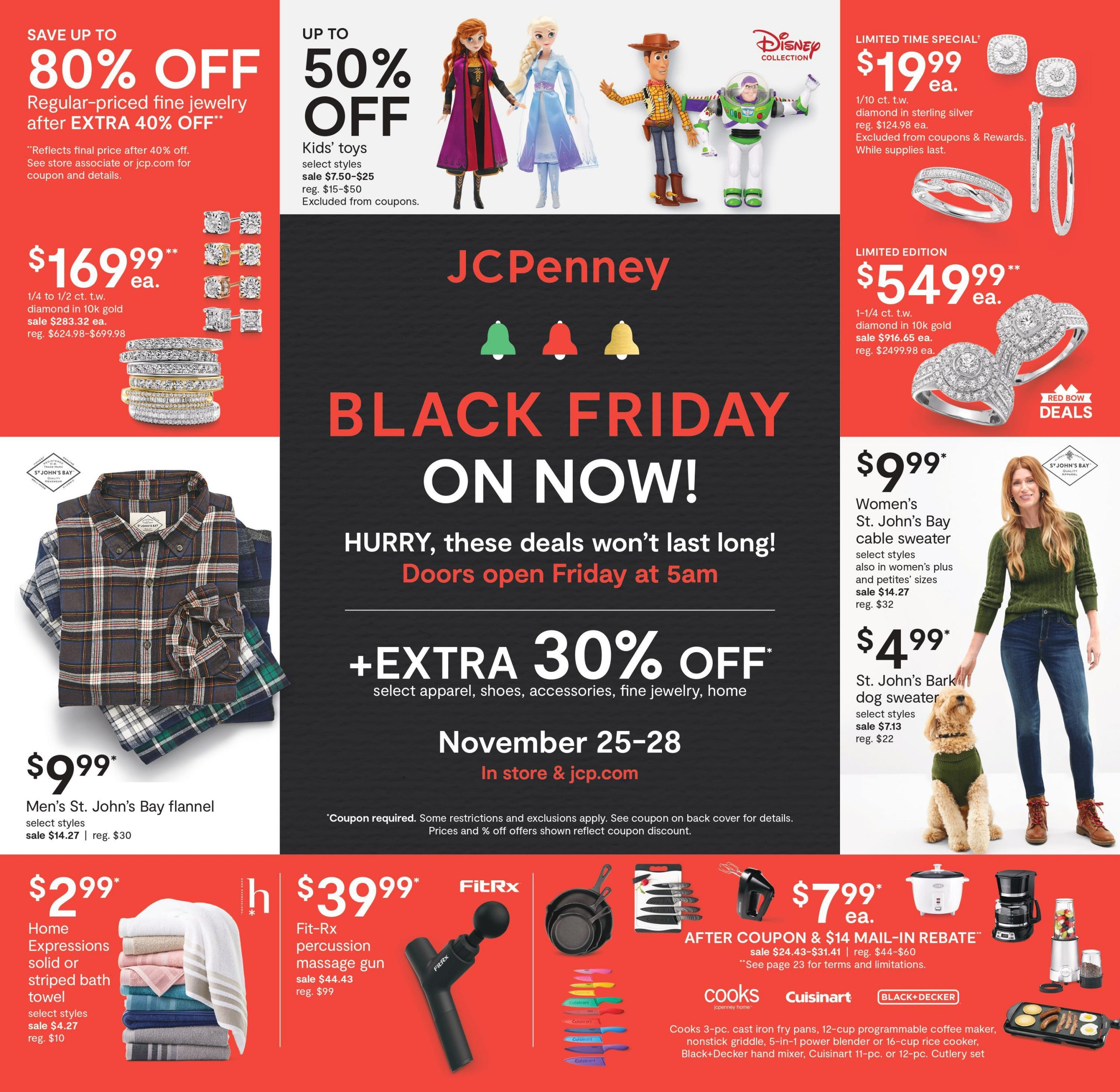 JC Penney Black Friday 2020 Ad